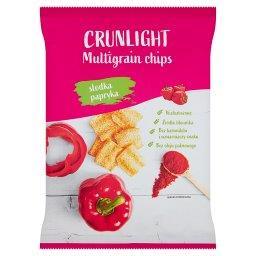Chipsy wielozbożowe słodka papryka