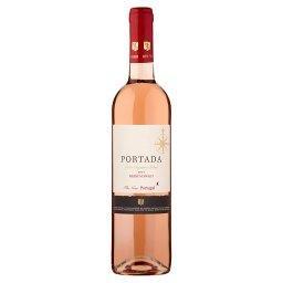 Wino różowe półsłodkie portugalskie 750 ml