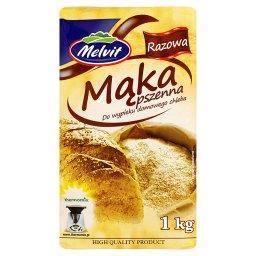 Mąka pszenna razowa do wypieku domowego chleba