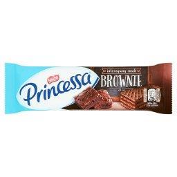 Kakaowy wafel przekładany kremem o smaku brownie