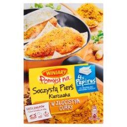 Pomysł na... Soczystą pierś kurczaka w złocistym curry