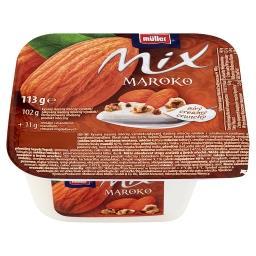 Mix Maroko Słodzony produkt mleczny z dodatkiem chrupek migdałowych