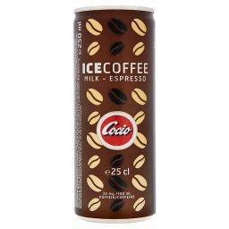 Ice Coffee Mrożony napój kawowy z mlekiem i espresso