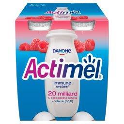 Actimel Mleko fermentowane o smaku malinowym 400 g