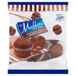 Muffini Mini Ciastka biszkoptowo-kakaowe z kawałkami czekolady