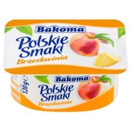 Polskie Smaki Deser jogurtowy z brzoskwiniami