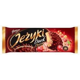 Dark Cherry Herbatniki w czekoladzie deserowej