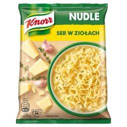 Nudle Ser w ziołach Zupa-danie