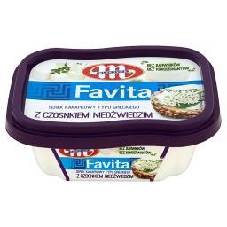 Favita Serek kanapkowy typu greckiego z czosnkiem niedźwiedzim