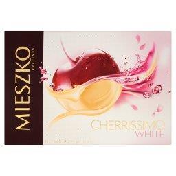 Cherrissimo White Czekoladki nadziewane wiśnie w alkoholu