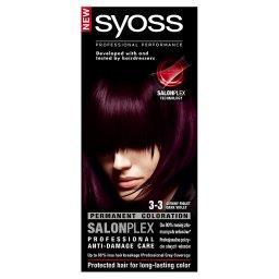 SalonPlex Farba do włosów Ciemny fiolet 3-3