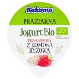 Praziarna Jogurt Bio truskawkowy z komosą ryżową