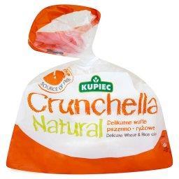 Crunchella Natural Delikatne wafle pszenno-ryżowe