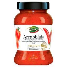 Premium Arrabbiata Klasyczny włoski sos pomidorowy do makaronu o smaku pikantnym