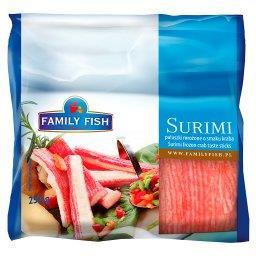 Paluszki Surimi o smaku kraba