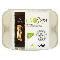 Eko jaja z chowu ekologicznego 6 sztuk