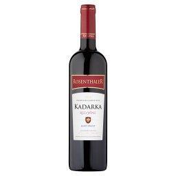 Wino czerwone półsłodkie