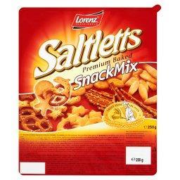 Snack Mix Mieszanka produktów ługowanych i krakersów