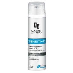 Men Sensitive Żel do golenia nawilżający dla skóry bardzo wrażliwej 200 ml