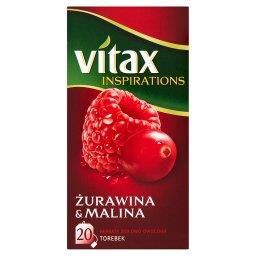 Inspirations Żurawina and Malina Herbata ziołowo-owo...