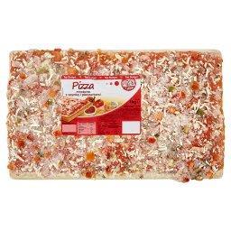 Pizza mrożona z szynką i pieczarkami