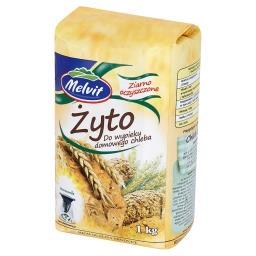 Żyto do wypieku domowego chleba