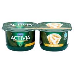 Activia ze zbożami Jogurt 240 g (2 sztuki)