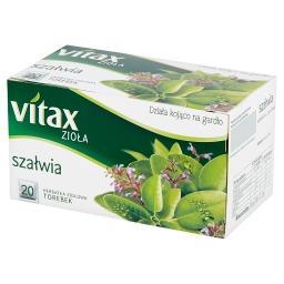 Zioła Szałwia Herbatka ziołowa 24 g (20 torebek)