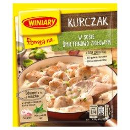 Pomysł na... Kurczaka w sosie śmietanowo-ziołowym