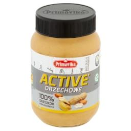 Active Pasta orzechowa 100% orzeszków arachidowych