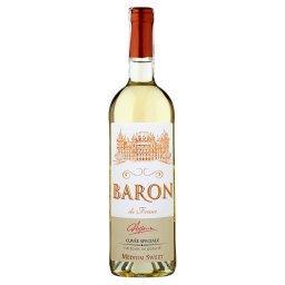 De Franc Wino białe półsłodkie hiszpańskie 750 ml
