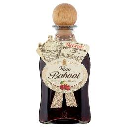 Wino Babuni wiśnia