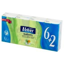 Balsam Chusteczki higieniczne ekstrakt z aloesu i nagietka 8 x 9 sztuk