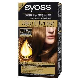 Oleo Intense Farba do włosów Słodki brąz 5-86