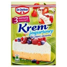 Krem jogurtowy 3 minuty