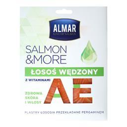 Salmon &more łosoś wędzony z witaminami A i E plastry 100g