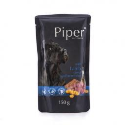 Piper animals mokra karma dla psa z jagnięciną, marchewką i brązowym ryżem 150 g