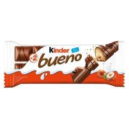 Bueno Wafel w mlecznej czekoladzie wypełniony mleczno-orzechowym nadzieniem 43 g