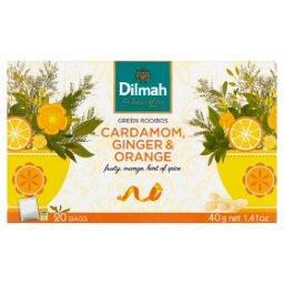 Zioła z przyprawami do zaparzania kardamon imbir i pomarańcza 40 g
