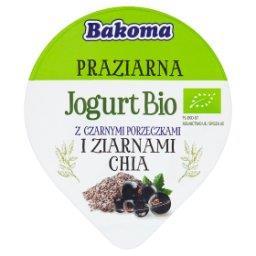 Praziarna Jogurt Bio z czarnymi porzeczkami i ziarnami chia