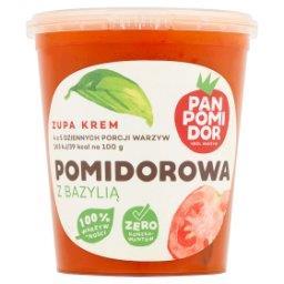 Zupa krem pomidorowa z bazylią