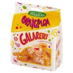 Oranżada Galaretki o smaku oranżady białe