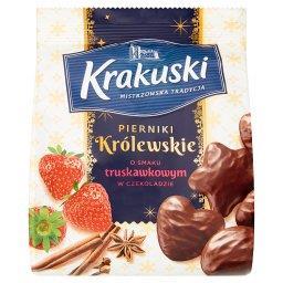 Pierniki Królewskie o smaku truskawkowym