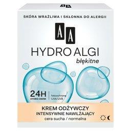 Hydro Algi błękitne Krem odżywczy intensywnie nawilż...