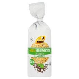 Wafle kukurydziane Bazylia & Quinoa  (21 sztuk)