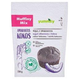 Bezglutenowe muffiny kokosowe z węglem aktywowanym