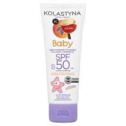 Baby Krem ochronny na słońce dla dzieci i niemowląt od 6 miesiąca SPF 50