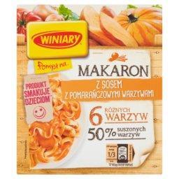 Pomysł na... Makaron z sosem z pomarańczowymi warzywami