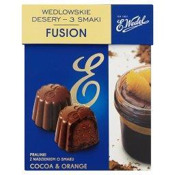 Wedlowskie desery 3 smaki Fusion Pralinki z nadzieniem