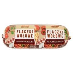 Flaczki wołowe w pomidorach